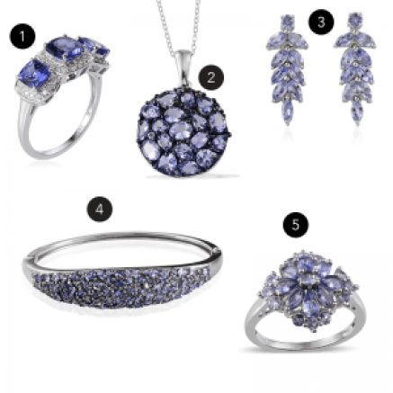 December birthstone jewelry gifts.
