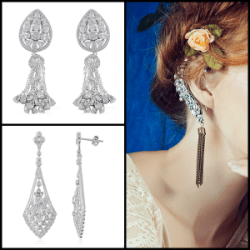 Trendspotter - Nontraditional Bridal Trends - Statement Earrings