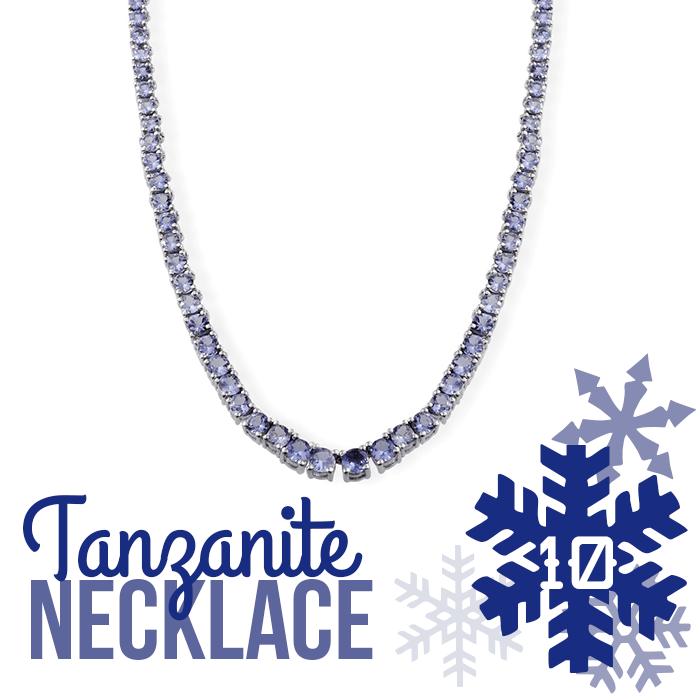 12 Days of Tanzanite - 10 - Tanzanite Necklace
