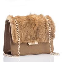 Trendspotter - faux fur - handbag