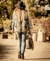 Trendspotter - faux fur - vest