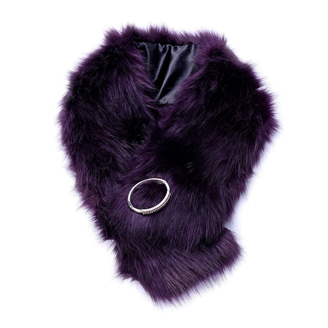 winter accesories - faux fur scarf