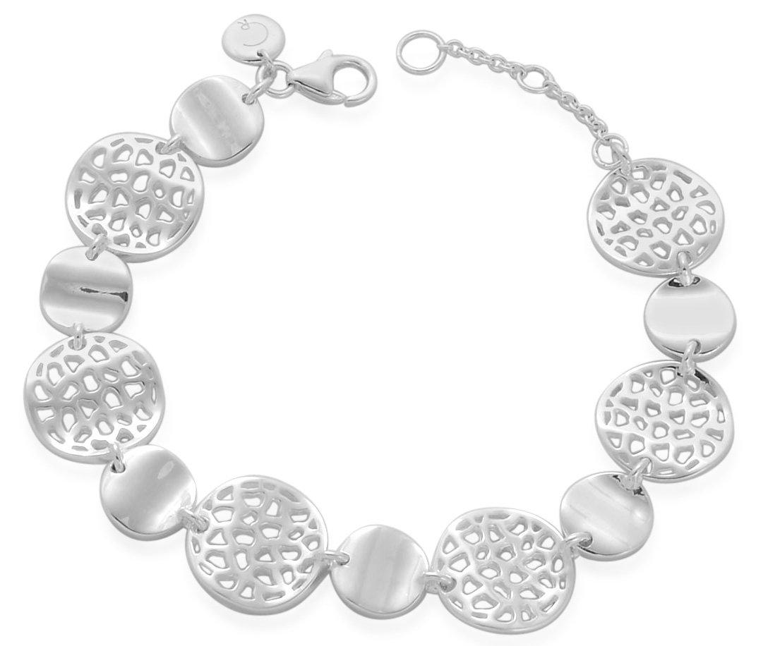 Fashion Week Roundup Jewelry - Rachel Galley Wave Sterling Silver Bracelet