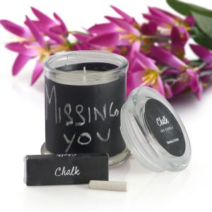 Top Ten Stocking Stuffers: Chalkboard Scented Candle