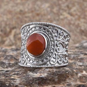 Jalisco Fire Opal Ring