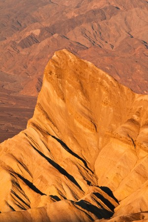 """Manly Beacon in the hottest place on earth, Death Valley, named after William Lewis Manly author of """"Death Valley in 1849"""""""