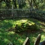 Jack London's grave site in Jack London Historic Park, Sonoma, California