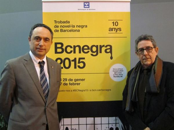 BCNegra, P. Camarasa y el teniente de alcalde J. Ciurana.