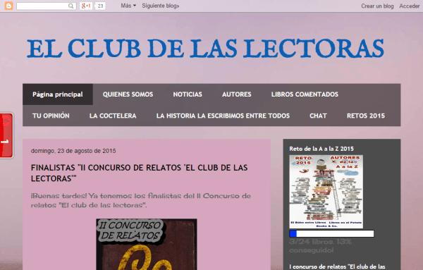 Blogs literarios: El club de las lectoras