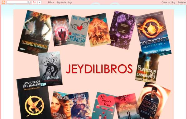 Blogs literarios: Jeydilibros
