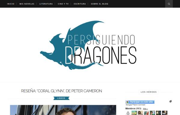 Blogs literarios: Persiguiendo dragones
