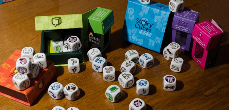 Jugando con la creatividad: Rory's Story Cubes