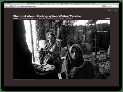 Shahidul Alam photography website