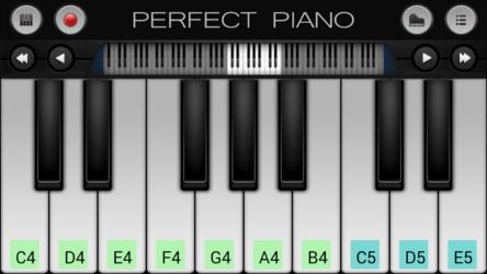 Perfect piano screen