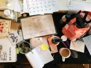 Trust me, life is not always organized (or ever)- I don't have it all together :)