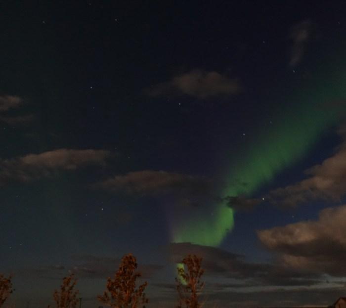 Südküste von Island Nordlicht
