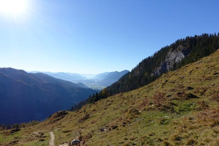 Panoramablick auf das Inntal