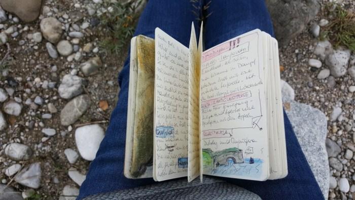 Eins der vielen isländischen Tagebücher