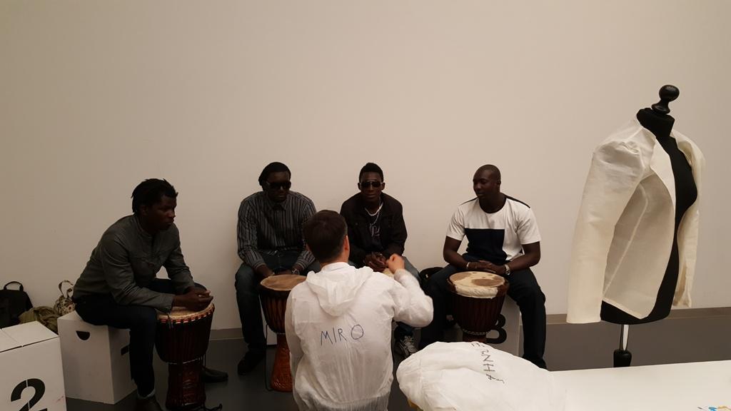 Rhythmus aus dem Senegal