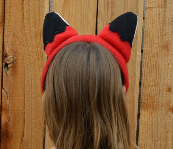 free fox ears sewing pattern living diy style