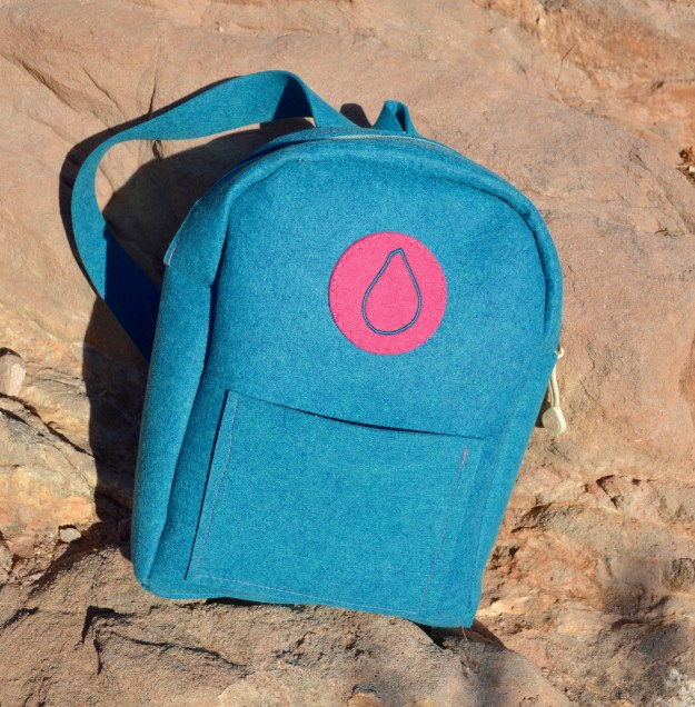 Lil' Ruck Backpack Blue Fig
