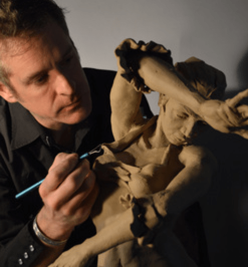 J. Todd Paxton sculpting