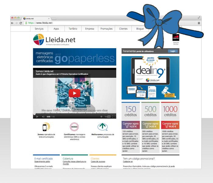 Home da nova web da Lleida.net