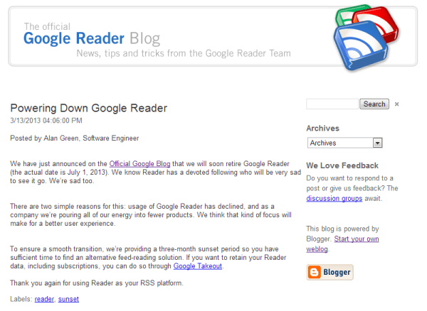 powerDownGoogleReader