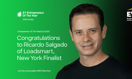 Loadsmart CEO Ricardo Salgado Named as an EY Entrepreneur Of The Year® 2020 New York Award Finalist