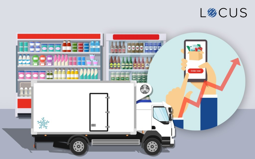 Cold storage demand for grocery delivery