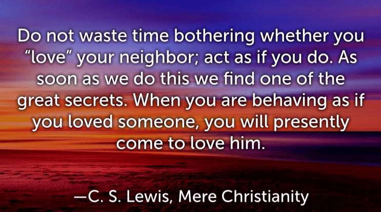 C. S. Lewis quotes on love