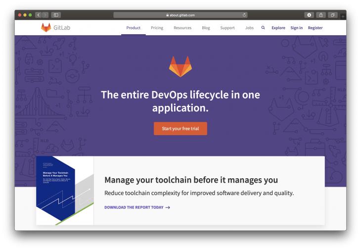 gitlab website
