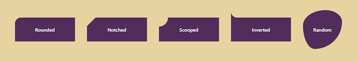 Five Types of Fancy Corners in CSS