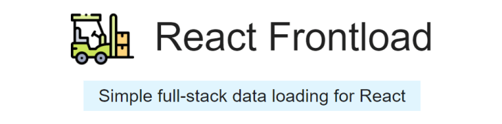 React Frontload logo.