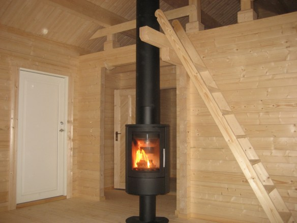 Log Cabin wood burner