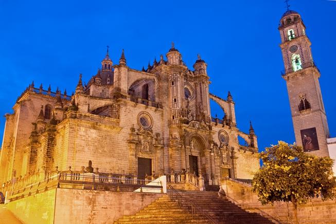 La cattedrale Jerez de la Frontera