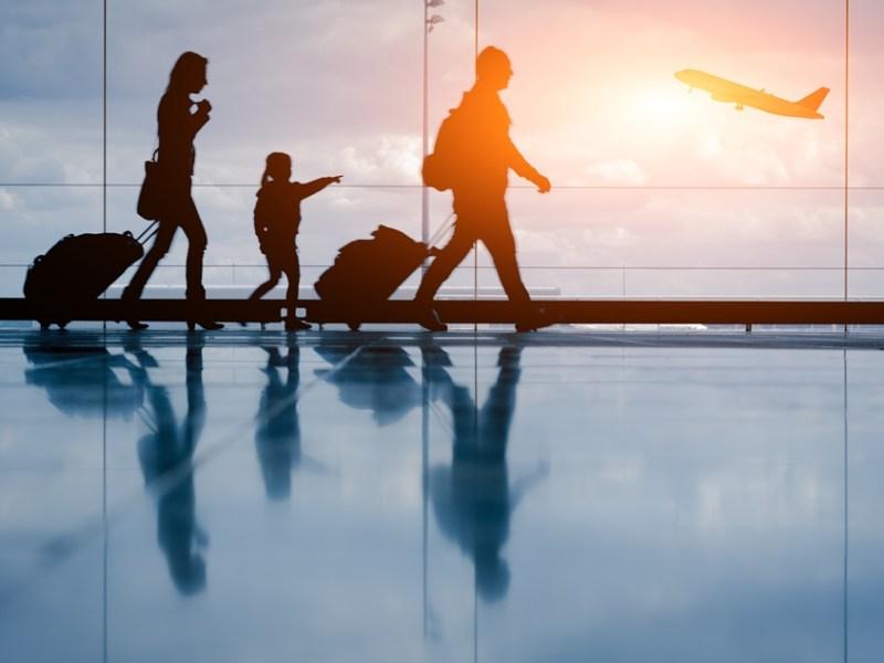 viaggio aereo con bambini