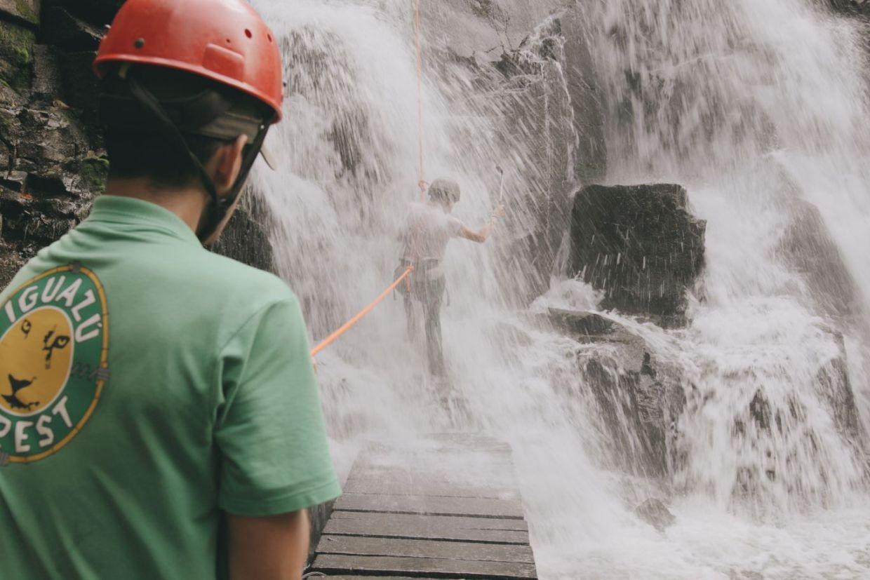 cascate Iguazu rappeling adventure tour