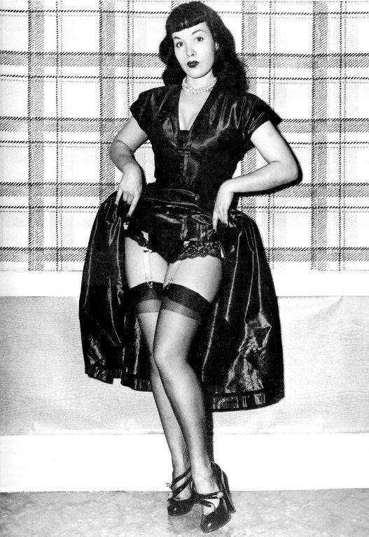 Bettie Page pin up