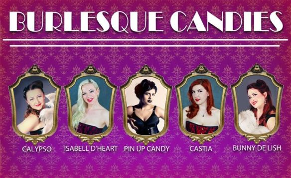 Burlesque Night by Pin Up Candy - Princess Night