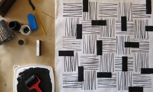 NEW :: Block Printing on Textiles Workshop at Got Craft?