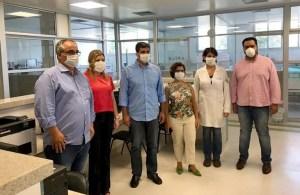 Prefeito confere novos leitos de UTI do HU para casos de coronavírus