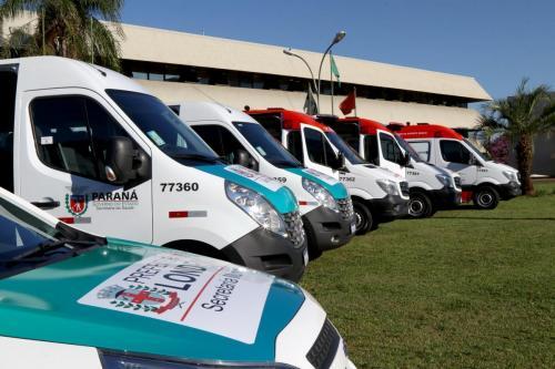 17.06.2020 Novas ambulâncias para o município - Fotos: Emerson Dias