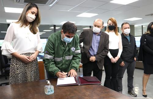 03.07.2020 Sanção da Lei Municipal n.º 13.096 - Foros: Vivian Honorato