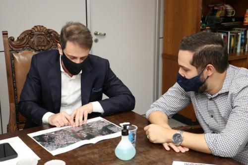 10.02.2021 Reunião com o presidente da Sanepar - Fotos Vivian Honorato