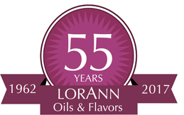 LorAnn Oils 55 years logo