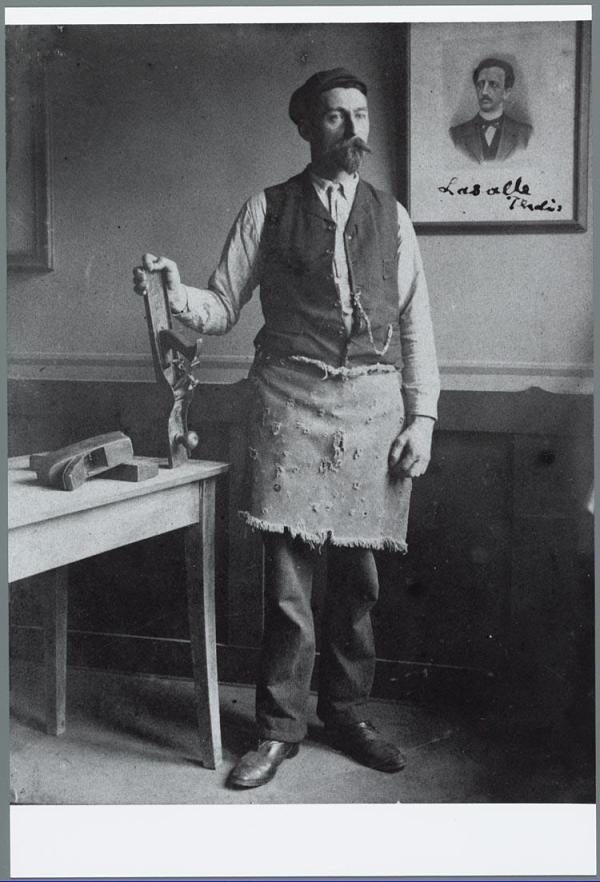 H.H. Wollring - Timmerman - Amsterdam c. 1904