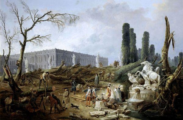 hubert_robert_fountain_of_apollo_gardens_of_versailles