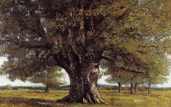 The Oak of Fagey (1864) by Gustav Courbet