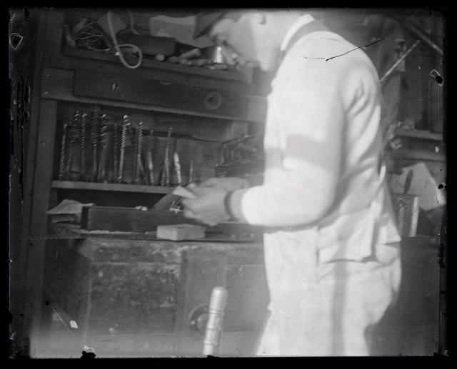 Carpenter-at-workbench